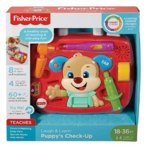 Brinquedo Maleta Cuidando do Cachorrinho Fisher Price Fvc83
