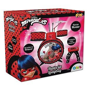 Brinquedo Baterial Infantil Miraculous Ladybug da Fun 81078