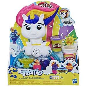 Massinha Play Doh Tootie Unicornio Fabrica de Sorvetes E5376