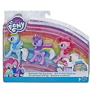 Boneca My Little Pony Pack Arco Iris Surpresa Hasbro E7703