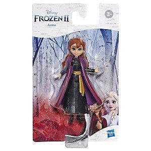 Brinquedo Mini Figura Basica Frozen 2 Anna 10cm Hasbro E8056