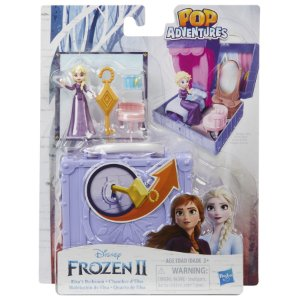Mini Playset Frozen 2 Pop Adventures O Quarto da Elsa E6545