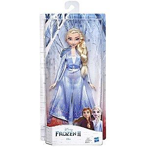 Boneca Classica Articulada Disney Frozen 2 Elsa Hasbro E5514