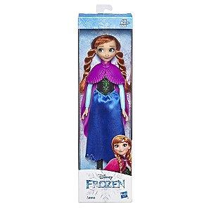Boneca Articulada Basica Frozen 2 Anna 30 cm Hasbro E5517