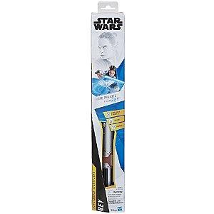 Star Wars Sabre de Luz Eletronico Rey Jedi da Hasbro E3126