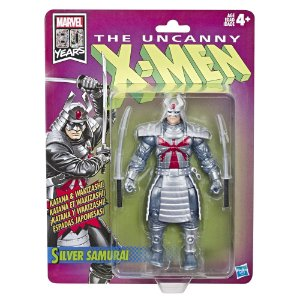 Figura Marvel Legends 80th X-Men Comics Silver Samurai E5296