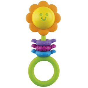 Brinquedo Infantil Chocalho de Bebe Flor da Winfun 000182