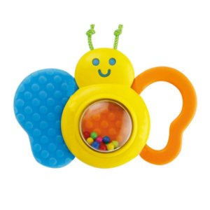 Brinquedo Infantil Chocalho de Bebe Borboleta Winfun 000183