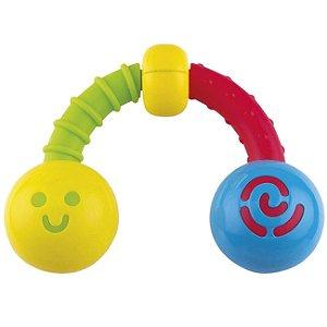 Brinquedo Infantil Chocalho de Bebe Lagartinha Winfun 000184