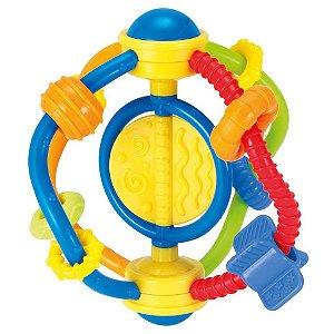 Brinquedo Infantil Chocalho de Bebe Maleavel Winfun 000233