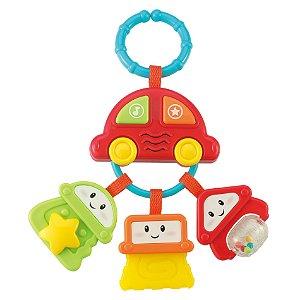 Brinquedo Infantil Chaveiro Chocalho com Sons WinFun 000628