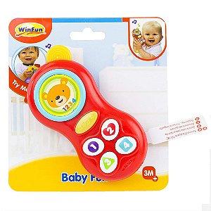 Brinquedo Infantil Telefone do Bebe com Sons WinFun 000638
