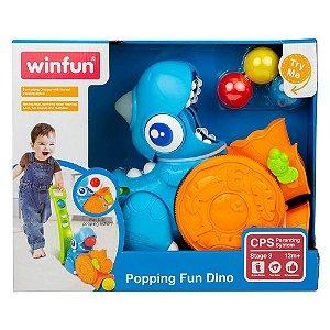 Brinquedo Come Come Dinossauro Divertido +12m WinFun 000673