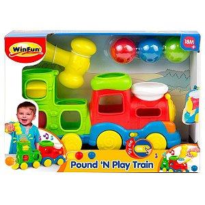 Brinquedo Infantil Novo Trenzinho Brincalhao WinFun 000780