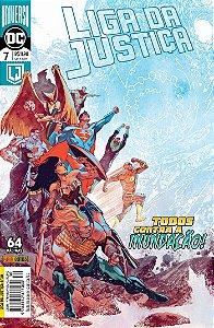 Hq DC Liga da Justiça Numero 30 / 7 com 64 Paginas Panini