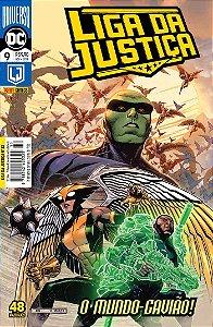 Hq DC Liga da Justiça Numero 32 / 9 com 48 Paginas Panini