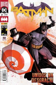 Hq DC Batman Renascimento Volume 31 com 48 Paginas Panini