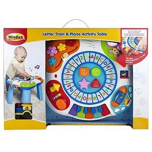 Brinquedo Infantil Super Mesa de Atividades WinFun 000801