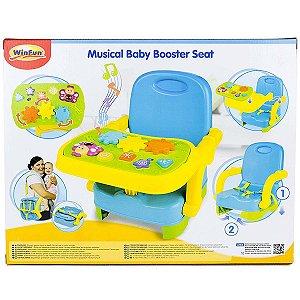 Brinquedo Infantil Assento Portatil Musical do Bebe 0808-NL