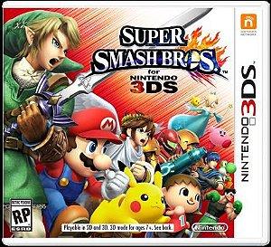 Jogo Novo Lacrado Super Smash Bros Para Nintendo 3ds