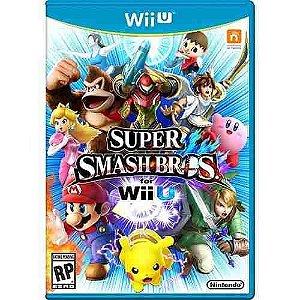 Jogo Novo Lacrado Super Smash Bros Para Nintendo Wii U