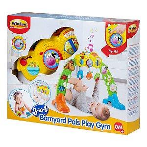 Brinquedo Centro de Atividades 3 em 1 Amigos da Fazenda 0853