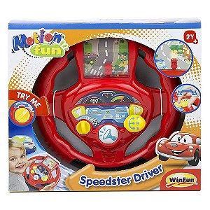 Brinquedo Infantil Volante Motorista Campeao da WinFun 1080