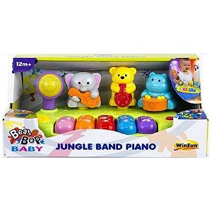 Brinquedo Infantil Pianinho Banda Selvagem da WinFun 002012