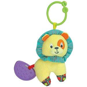 Brinquedo Infantil Chocalho Caesar O Leao Divertido 000109