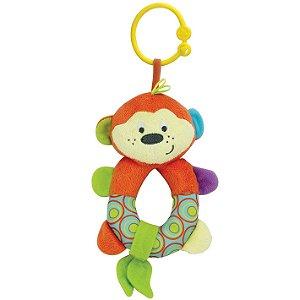 Brinquedo Infantil Chocalho Cheeky O Macaco Divertido 000110
