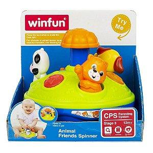 Brinquedo Infantil Gira Gira Amigos Animais WinFun 000736