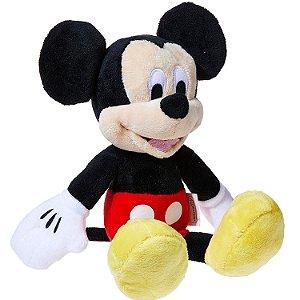 Brinquedo Mini Pelucia Disney com Som Mickey Multikids BR867