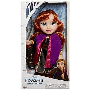 Boneca Frozen 2 Vestido de Luxo Anna com 35cm da Mimo 6483
