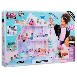 Playset Lol Surprise Chalet Winter Disco Series Candide 8933