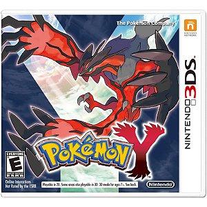 Jogo Novo Midia Fisica Pokemon Y Original para Nintendo 3ds