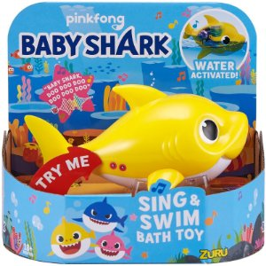 Brinquedo Zuru Robo Alive Junior Baby Shark da Candide 1118