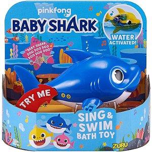 Brinquedo Zuru Robo Alive Junior Daddy Shark da Candide 1118