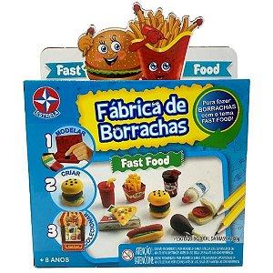 Brinquedo Kit Fabrica de Borrachas Fast Food 100g da Estrela