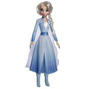 Boneca Gigante Frozen 2 Princesa Elsa 85cm Baby Brink 2006