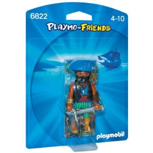 Figura Playmobil Playmo Friends Pirata do Caribe Sunny 1196