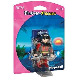 Figura Playmobil Playmo Friends Menina Guerreira Sunny 1197