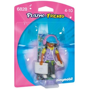 Figura Playmobil Playmo Friends Menina High Tech Sunny 1197