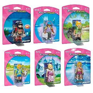 Combo 6 Figuras Playmobil Playmo Friends Menina Sunny 1197