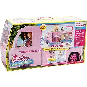 Brinquedo Veiculo Barbie Trailer dos Sonhos da Mattel Fbr34