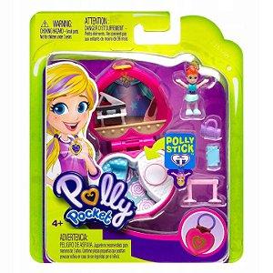 Mini Playset e Boneca Polly Pocket Sortido da Mattel Fry29