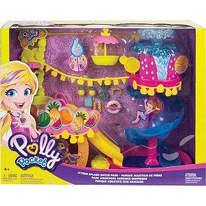 Polly Pocket Novo Parque Aquatico dos Abacaxis Mattel Gfr02