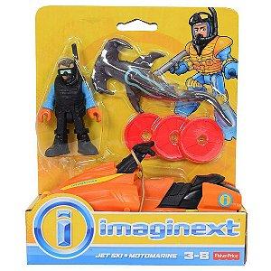 Imaginext Oceano Mergulhador com Jet Ski Fisher Price Dfy01