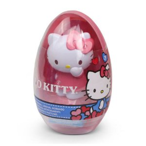 Doce e Figura Hello Kitty Ovo Big Toy Unitario Sortido 4043