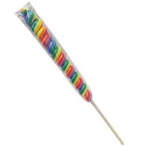 Doce Pirulito em Espiral Espiralito Unitario Candy Fun 4067