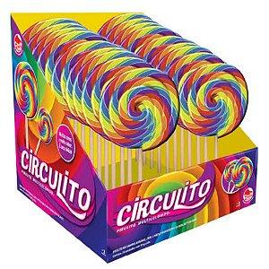 Doce Pirulito em Espiral Circulito Caixa com 24 da Dtc 4068